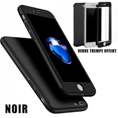 coque 360 iphone 7 plus noir