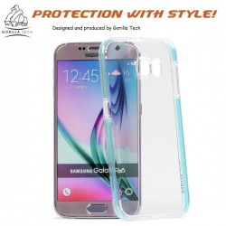 Coque Samsung Galaxy Note 4 Fluidy slim - Gorilla Tech - Différent coloris de contour