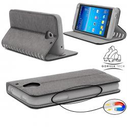 Etui Samsung Galaxy Note 2 Wallet Style 2 - Gorilla Tech - Différent coloris