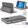 Etui Samsung Galaxy J7 2016 Wallet Style 2 - Gorilla Tech - Différent coloris