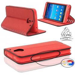 Etui Samsung Galaxy A3 Wallet Style 2 - Gorilla Tech - Différent coloris