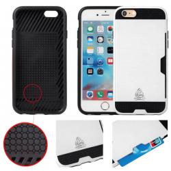 Coque IPhone 6 Plus/6S Plus slim Armor protection double couche - Gorilla Tech - Différent coloris