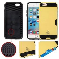 Coque IPhone 5/5S/SE slim Armor protection double couche - Gorilla Tech - Différent coloris