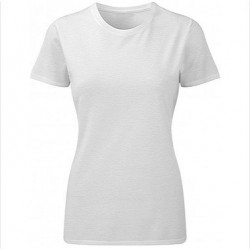 T-shirt Femme polyester blanc - Différentes tailles