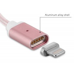 Cable chargeur lightning vers USB Magneto -Différents coloris