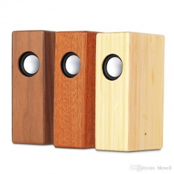 Enceinte induction en bois Woody2 - Différents coloris