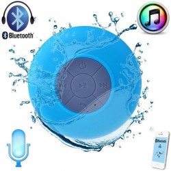 Enceinte bluetooth waterproof Douchy - Différents coloris