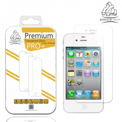 Verre trempé Premium IPhone 4/4S - Gorilla Tech