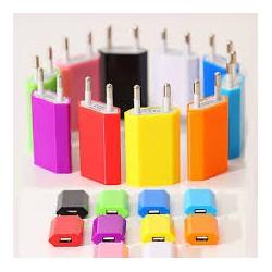Adaptateur secteur chargeur USB Sectron - Différents coloris