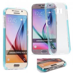 Coque Samsung Galaxy J3/J3 2016 Fluidy slim - Gorilla Tech - Différent coloris de contour